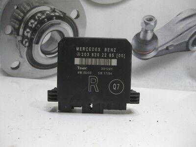 Komfortsteuergerät Türsteuergerät HR rechts 2038201285 Mercedes W203 C320 V6 CDI gebraucht kaufen  Nümbrecht