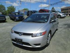 2006 Honda Civic Cpe DX CRAZY LOW KMS!!! AUTOMATIC!!