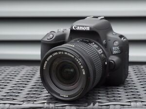Canon 200D/SL2 with filter + 2 SD cards