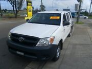 TOYOTA HILUX WORKMATE 4X2 DUAL CAB UTILITY 2.7 4 CYL MANUAL PETROL Lidcombe Auburn Area Preview