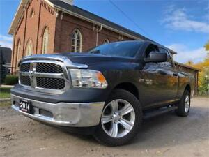 2014 Ram 1500 ST 4x4+Certified+Detailed+Big Rubber