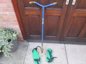 Garden cultivating clew & Lawn Aerator spiked shoes
