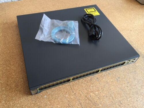 Cisco 48 Ethernet 10/100/1000 4 Sfp-based Gigabit Ethernet Ws-c3750g-48ts-s
