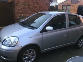 1.3 TOYOTA YARIS COLOUR COLLECTION Silver-2 owners-Immaculate- just serviced & MOT'd-looked after