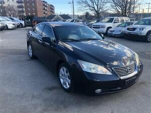 2009 Lexus ES350, low kms! clean carfax! sunroof! leather!