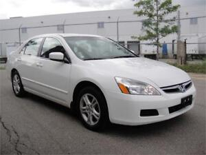 2007 HONDA ACCORD EX-ONE OWNER,LOW LOW KMS,ALL POWER,SUNROOF