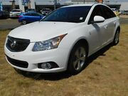 2014 Holden Cruze JH MY14 Equipe White 6 Speed Automatic Sedan Greenway Tuggeranong Preview