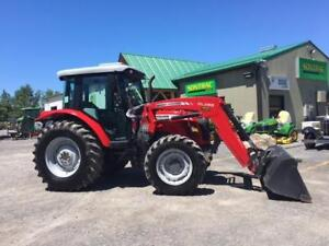 2011 MASSEY FERGUSON 2660 TRACTOR WITH LOADER