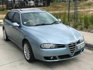 2005 Alfa Romeo 156 JTS 5 Speed Blue 5 Speed Manual Wagon Taren Point Sutherland Area Preview