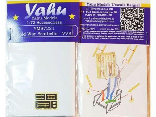 YAHU YMS7221 Cold War Seatbelts - VVS (Soviet side)