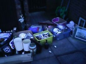 job lot of house old items