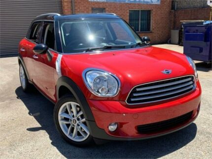2014 Mini Countryman R60 Cooper Red 6 Speed Sports Automatic Wagon Blacktown Blacktown Area Preview