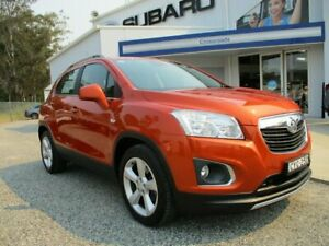 2014 Holden Trax TJ MY14 LTZ Orange 6 Speed Automatic Wagon