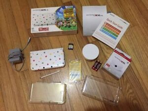 Special Edition Animal Crossing 3DS XL Plus Extras