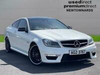 2012 Mercedes-Benz C Class C63 Edition 125 2Dr Auto Coupe Petrol Automatic