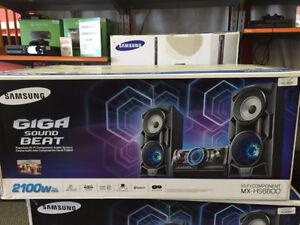 Samsung GIGA BOOM MX-HS8600 $15/ Week!! No Credit Needed!!