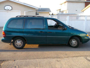 Ford Windstar Minivan in Great Condition - Trade for Pickup