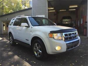 2008 FORD ESCAPE LIMITED 4X4+V6+CUIR+AWD+GARANTIE 2 ANS INCLUSE