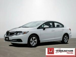 2015 Honda Civic LX Sedan Automatic w/ Bluetooth, Heated Seats,