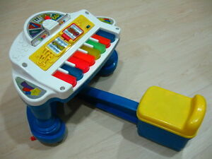 toy Piano : Fisher Price Sparkling Symphony Rock and Play