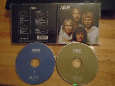 ABBA 2x CD Definitive Collection MAMMA MIA Dancing Queen SOS Waterloo Fernando !