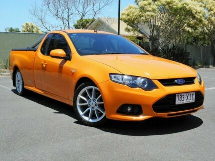 2014 Ford Falcon FG MkII XR6 Ute Super Cab Orange 6 Speed Sports Automatic Utility Chermside Brisbane North East Preview