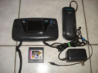 Sega Game Gear Complete w/Power Cord and 3 Games!