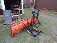steel snow plow complete off a 92 chevy K2500 or K1500