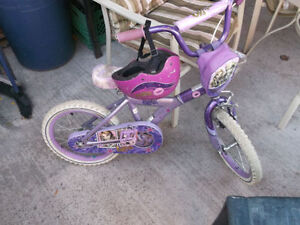 Bratts Young Girls Bike Great Shape with some wear on it