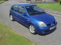 Renault Clio 1.2 16v Extreme 4 2005 63700Mls MOT 17/4/17 6 Service Stamps Clean