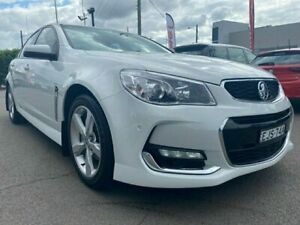 2016 Holden Commodore VF II MY16 SV6 White 6 Speed Sports Automatic Sedan Cardiff Lake Macquarie Area Preview