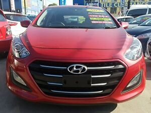2015 Hyundai i30 GD3 Series 2 Active Red 6 Speed Automatic Hatchback Five Dock Canada Bay Area Preview