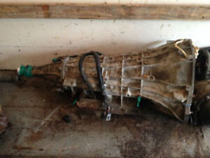 2WD FORD E4OD AUTOMATIC TRANSMISSION. 302, 351W, 300