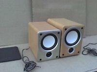 60W Mission Denon SC-M53 SC-M73 horned Stereo Speaker - Heathrow