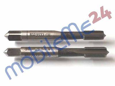 !!! Werkö Satz Gewindebohrer M8x0,5 Set MF 8 x 0,5 HSS Industriequalität neu !!!