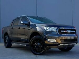 2015 Ford Ranger PX MkII Wildtrak Double Cab Black 6 Speed Sports Automatic Utility Berwick Casey Area Preview