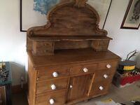 Antique Pine Lincolnshire Dresser