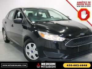 2016 Ford Focus S-GROUPE ELECRTIQUE-A/C-BLUETOOTH