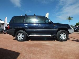 2002 Toyota Landcruiser FZJ105R GXL Blue 4 Speed Automatic Wagon Rosslea Townsville City Preview