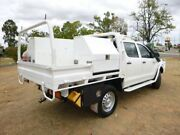 2014 Toyota Hilux KUN26R MY14 SR (4x4) Glacier White 5 Speed Automatic Double Cab Chassis Oakey Toowoomba Surrounds Preview