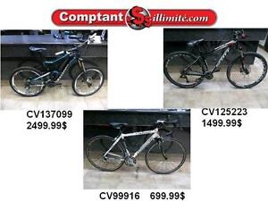 Nos vélos sont de retour chez Comptant illimite.com 819-566-3333