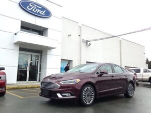 2017 Ford Fusion SE AWD Luxury Package with Navigation, Moonroof
