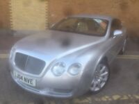 stunning bentley continental gt amazing value!!!