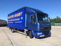 DAF LF45 150 2006 (06) MOT Sept End 2017 Tail Lift Sleeper Cab