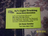 24HR Light Trucking/Junk removal,moving&more!