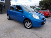 2011 Nissan Micra K13 ST Blue 4 Speed Automatic Hatchback Bayswater North Maroondah Area Preview