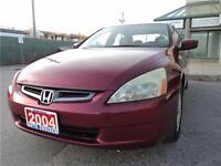 2004 Honda Accord Sdn EX-L Clean Carproof/Certified