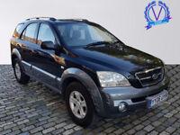 KIA SORENTO 2.5 CRDi XE 5dr (black) 2006