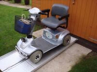 Any Terrain 18 St Capacity Infinity Mobility Scooter Great Batteries Portable Adjustable Only £290