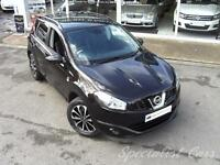 NISSAN QASHQAI 1.5 DCI 360 5d 110 BHP Camera All round -Panoramic (black) 2013